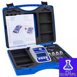 reagent case with photometer for drinking water