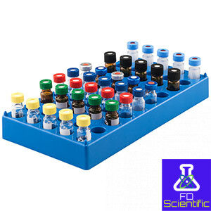 Vial racks and containers